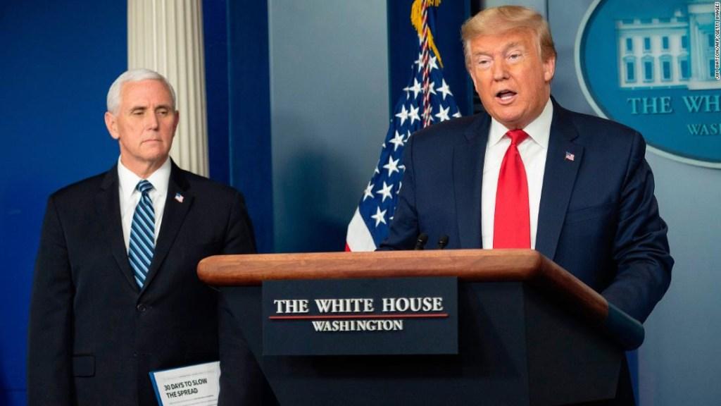 Trump dice que se han realizado más de 2 millones de pruebas de coronavirus en los EE. UU. Y afirma que no se necesitan pruebas masivas