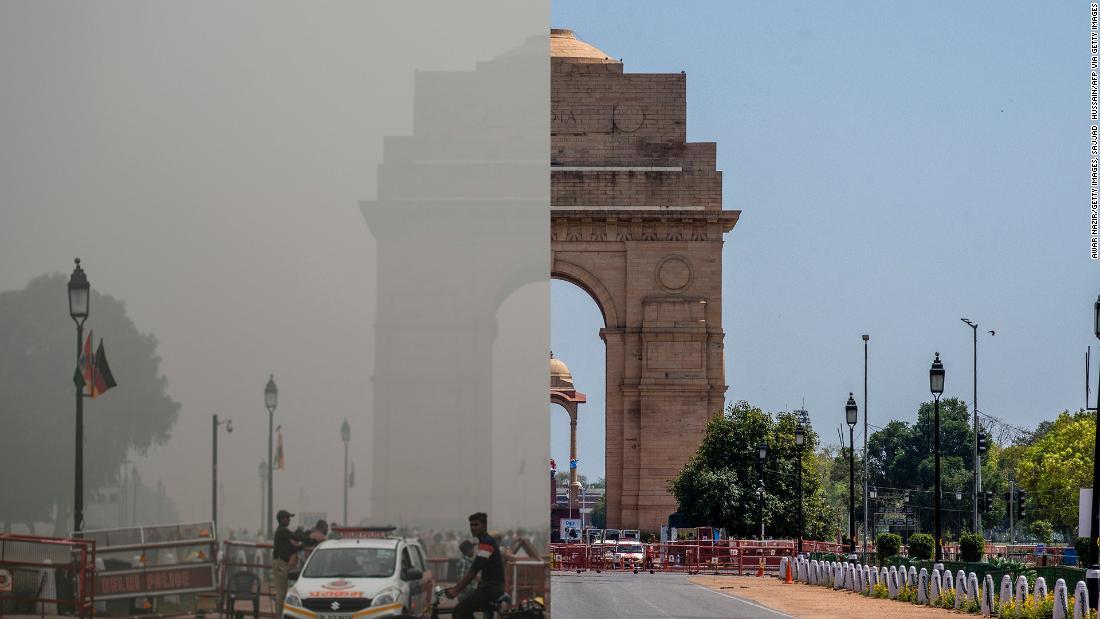 Impacto ambiental confinamiento por coronavirus en la India