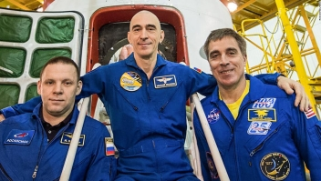 Astronauta de la NASA, cosmonautas rusos se lanzarán a la estación espacial durante una pandemia