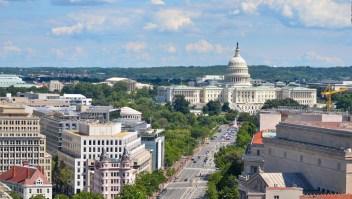 Capital de Estados Unidos, entre coronavirus y retos de seguridad