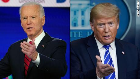 Encuestas: la intención de voto entre Trump y Biden