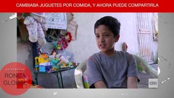 Sorprenden a niño que cambiaba juguetes por comida y más