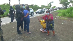 El hambre hace protestar a los panameños y piden apoyo