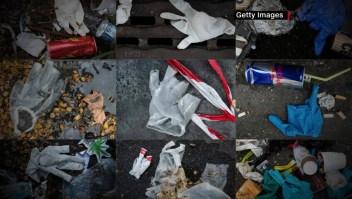 La pandemia trae nueva amenaza: más desechos plásticos