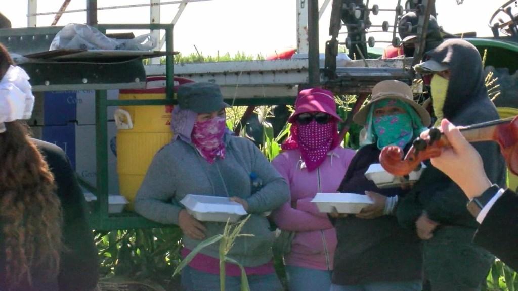 Homenaje a los trabajadores del campo