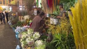México: Cierran mercado de flores previo al Día de la madre