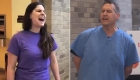 Médicos y enfermeras cantan para levantar el ánimo