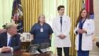Covid-19: Trump contradice a enfermera en la Casa Blanca
