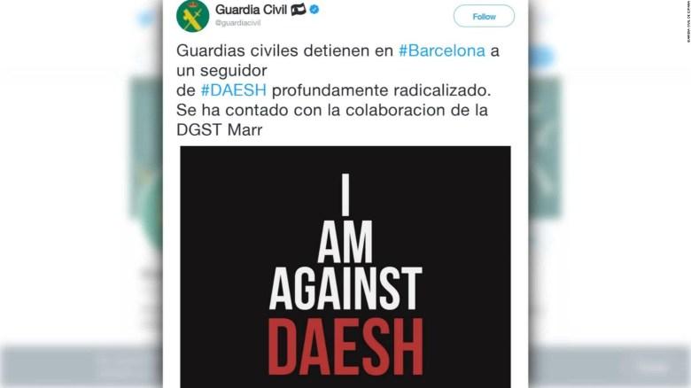Detienen a presunto miembro de ISIS en España