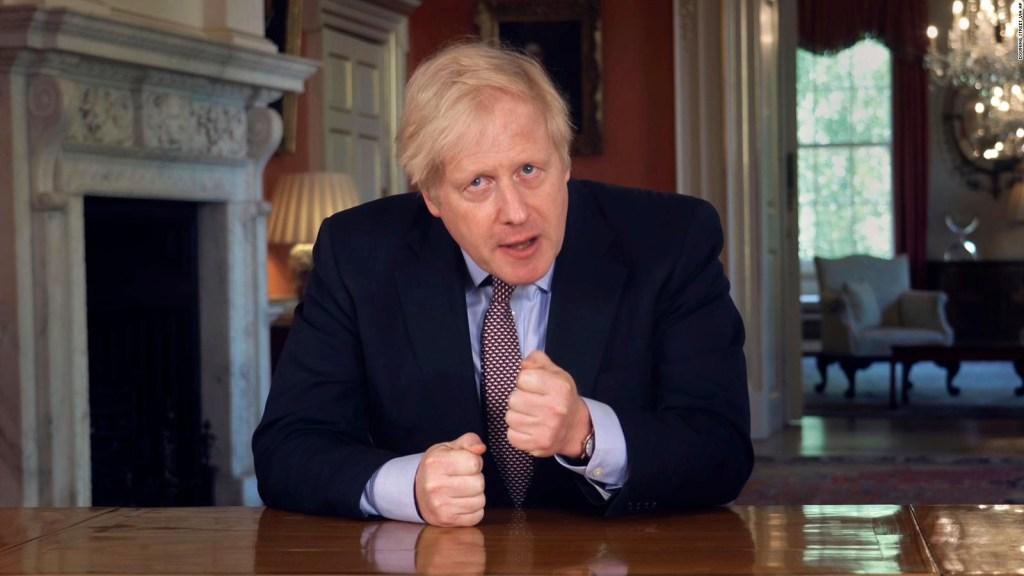 Boris Johnson anuncia medidas para flexibilizar confinamiento