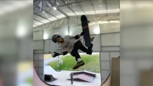 El niño patinador que logró un hito histórico