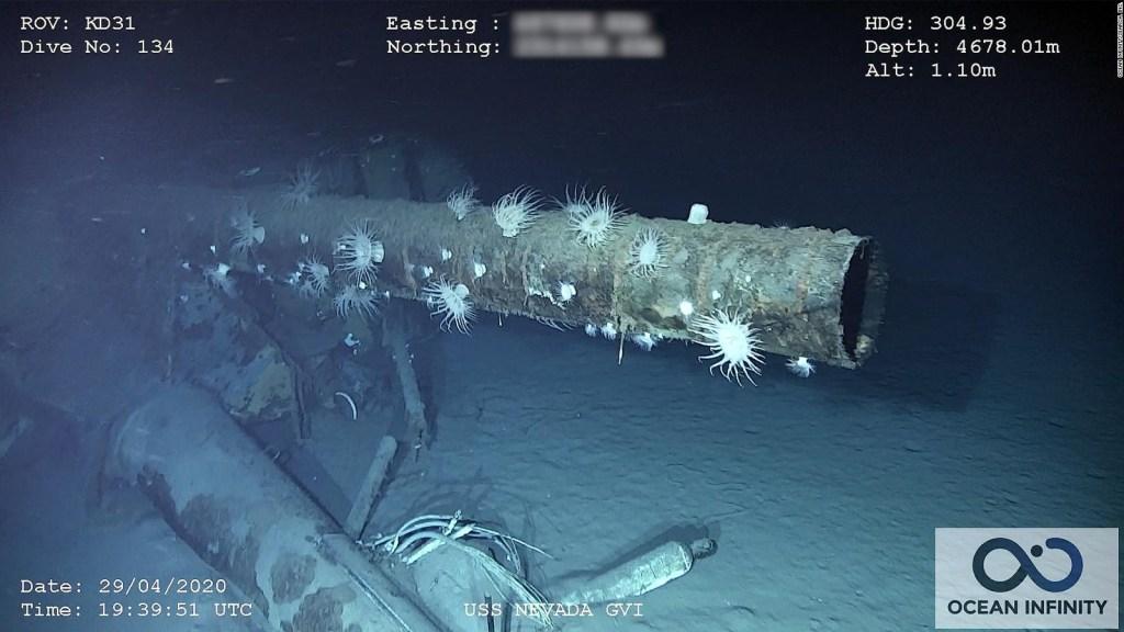 Hallan los restos del mítico acorazado USS Nevada