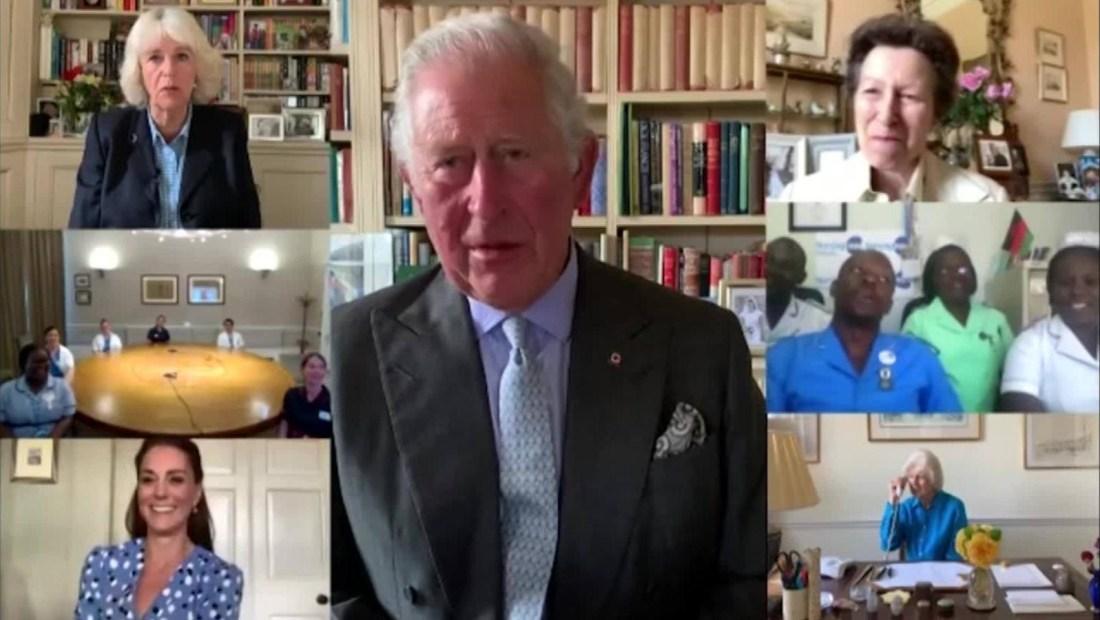 La realeza británica reconoce a los enfermeros en su día