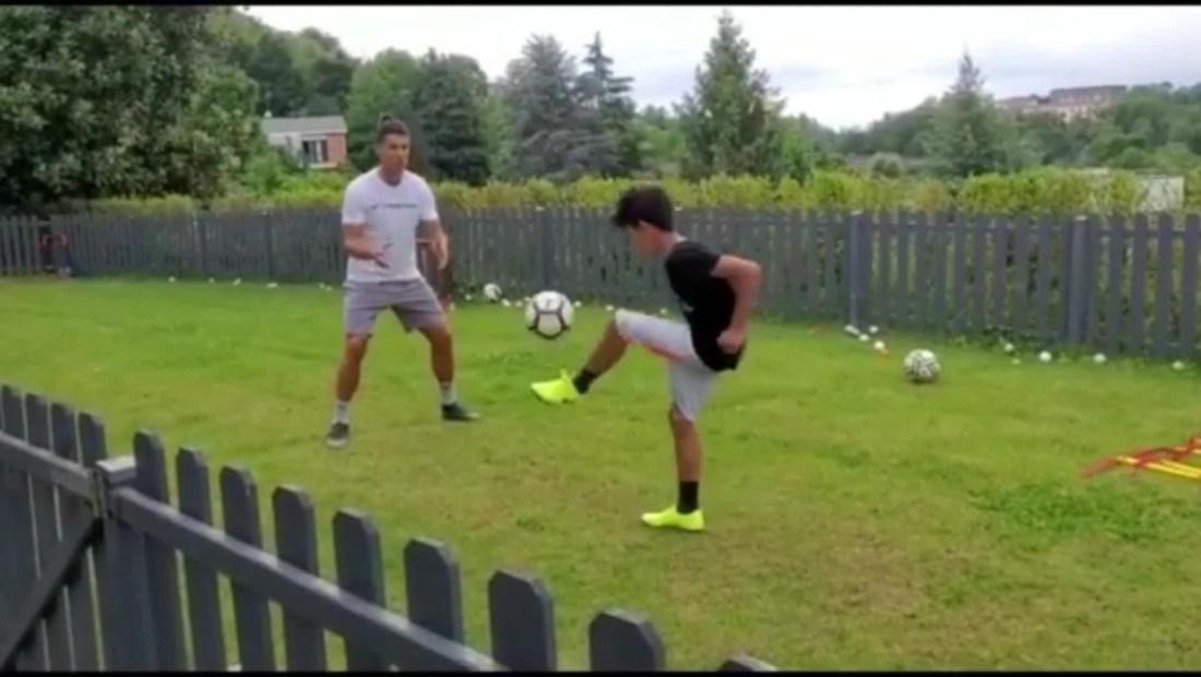 Cristiano Ronaldo: de tal palo, tal astilla