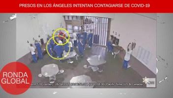 Presos intentan contagiarse de covid-19 y más de la pandemia