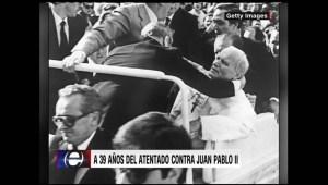 Retro: A 39 años del ataque al papa Juan Pablo II