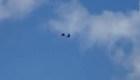Captan caída de paracaidistas en videos angustiantes