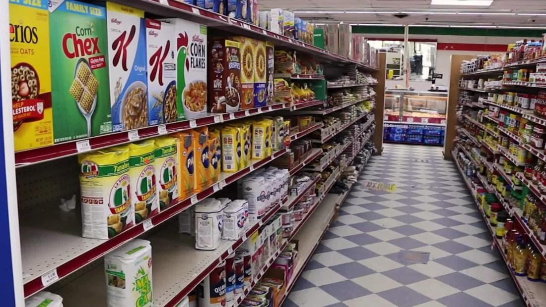 Precios de comida se disparan en EE.UU. por la pandemia