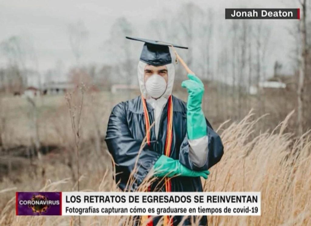 Coronavirus: las fotos que marcan a la clase de 2020