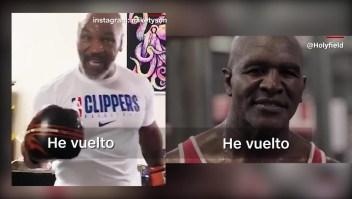 ¿Pelearán Mike Tyson y Evander Holyfield una vez más?