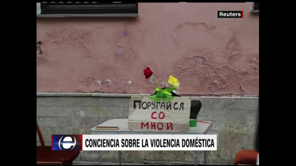 La violencia doméstica tocada por el arte en Rusia