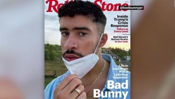 Bad Bunny, en la portada de la revista Rolling Stone