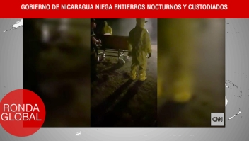 Gobierno de Nicaragua niega entierros nocturnos y más