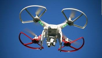 Drones entregan pedidos a adultos mayores