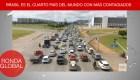 Brasil, cuarto país con más contagios y más del covid-19