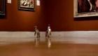 Abren un museo de arte para pingüinos