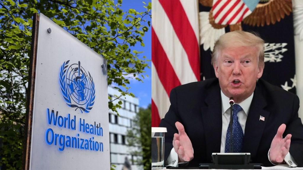 La disputa de Trump con la OMS