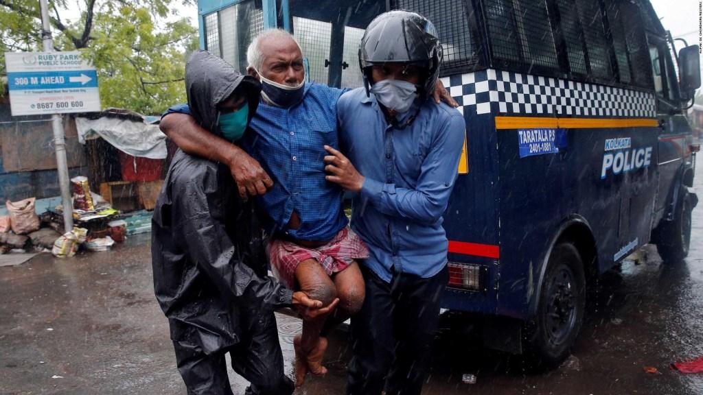 El ciclón Amphan deja muerte y destrucción