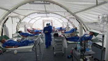 Denuncias por la situación sanitaria del personal médico