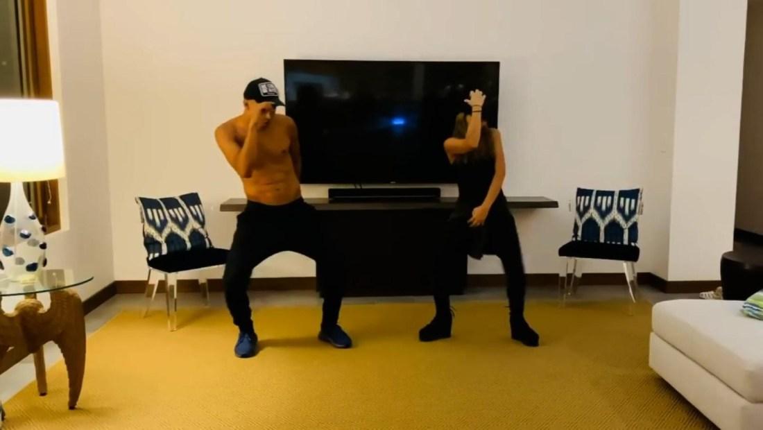 Keylor Navas y su esposa nos enseñan sus pasos de baile