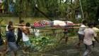 Amphan deja al menos 80 muertos y pérdidas millonarias