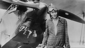 Amelia Earhart, la primera mujer que cruzó el Atlántico