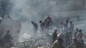 Se estrella un avión comercial en Pakistán