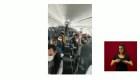 México: pasajeros ovaciona a enfermeros víctimas de extorsión
