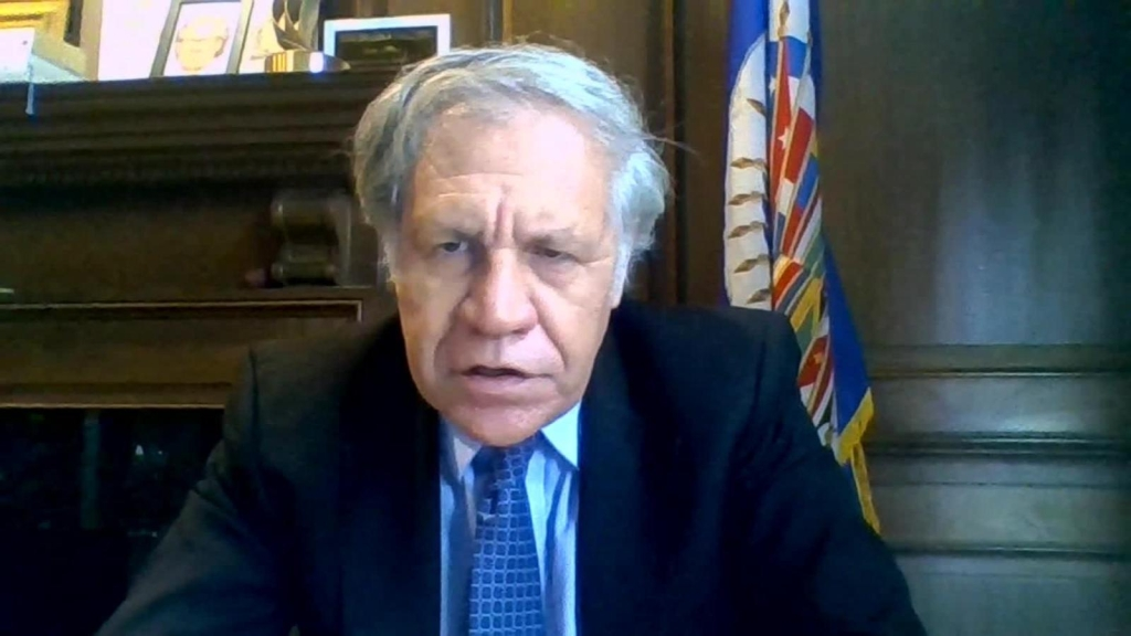 Luis Almagro critica a Cuba en Oppenheimer Presenta