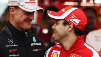 Felipe Massa dice que sabe cómo está Michael Schumacher