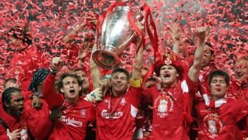 La hazaña del Liverpool en Estambul llega a 15 años