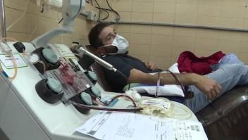 Plasma de recuperados de covid-19 da esperanza en Argentina