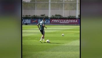 Una canasta imperdible de Cristiano Ronaldo