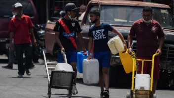 Venezolanos regresan al país por la pandemia de covid-19