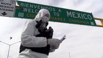 """Obreros mexicanos regresan a la """"nueva normalidad"""""""