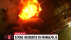 Las protestas aumentan en Minneapolis por la muerte de George Floyd