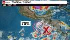 ¿Se desarrollará un ciclón en el sur de México?