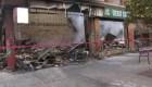 La destrucción en un barrio latino de Minneapolis tras las protestas