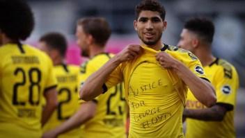 Futbolistas de la Bundesliga piden justicia por George Floyd