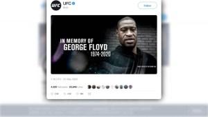 UFC: homenaje al fallecido George Floyd